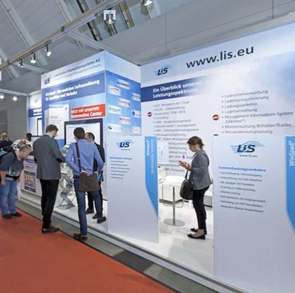 LIS AG stellt Software-Neuerungen auf der LogiMAT vor