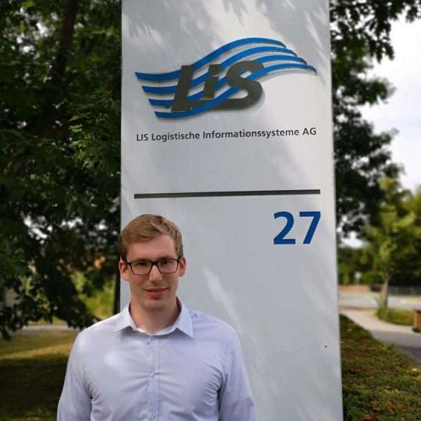 Willkommen im Team: Philipp Geiger startet duales Studium