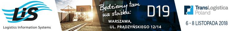 LIS na targach TransLogistica 2018 zaproszenie
