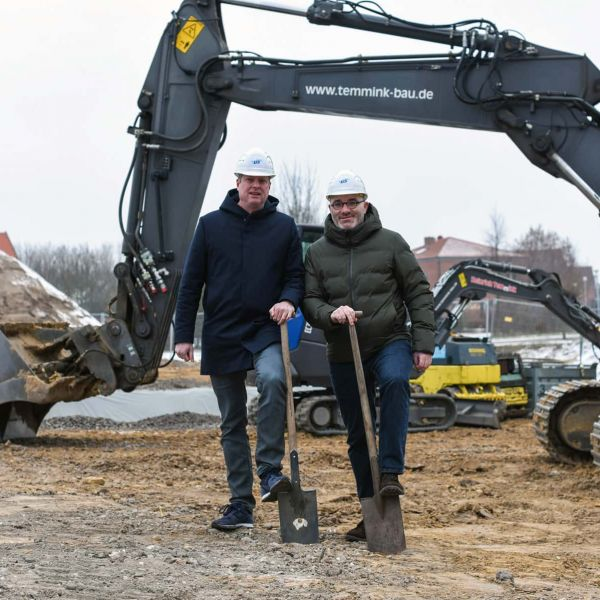 On course for growth: LIS AG builds new office building in Greven