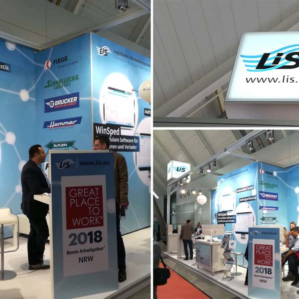 Successful product presentation at LogiMAT 2019